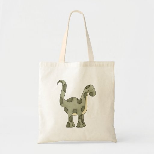 Baby Dinosaur Canvas Bags