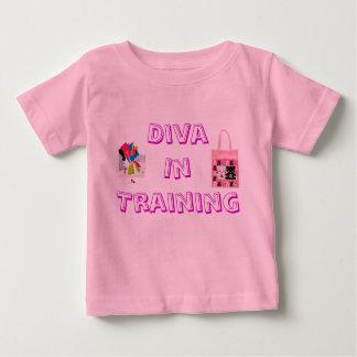Baby Diva in Training Baby T-Shirt