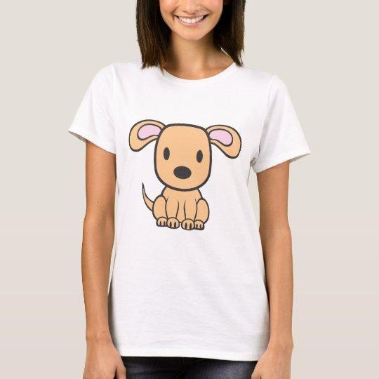 Baby Dog Cartoon T-Shirt