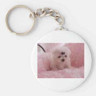 Baby Doll Basic Round Button Keychain