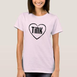 Baby Doll - Black Heart Tink-Shirt T-Shirt