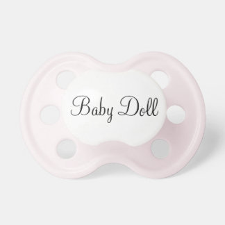 Baby Doll Pacifier