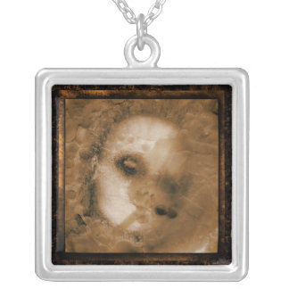BABY DOLL SQUARE PENDANT NECKLACE