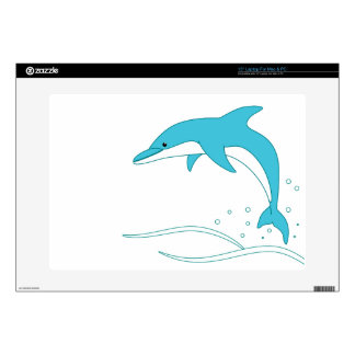 """Baby Dolphin 15"""" Laptop Skins"""
