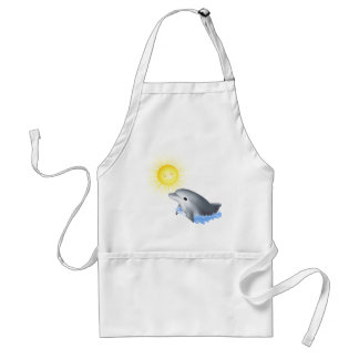 Baby Dolphin Adult Apron