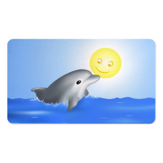 Baby Dolphin Business Card Templates