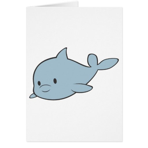 Baby Dolphin Card