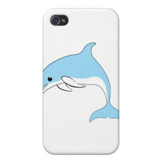 Baby Dolphin Case For iPhone 4