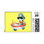 Baby Donald in Boat Postage Stamps