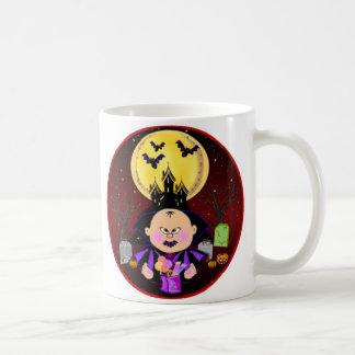 Baby Dracula Halloween Mug