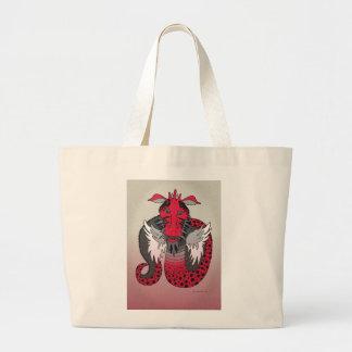Baby Dragon 4 Large Tote Bag