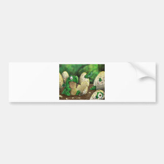 Baby Dragon Bumper Sticker