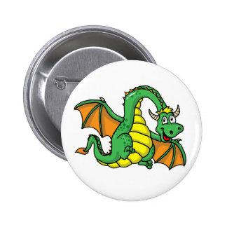 Baby Dragon 2 Inch Round Button