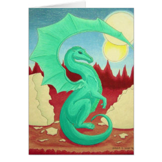 Baby Dragon Greeting Cards