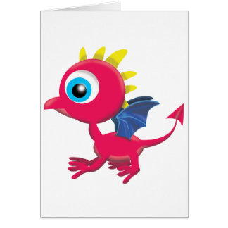 BABY DRAGON CARD