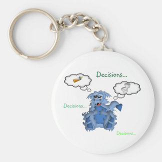 Baby Dragon Decisions...Decisions...Decisions... Keychains