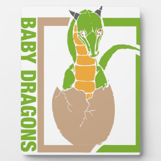 Baby Dragon egg design Plaque