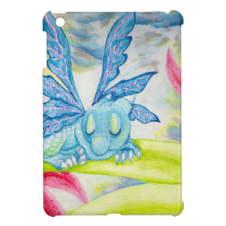 Baby dragon fairy tiger lily flower storm spring iPad mini cover