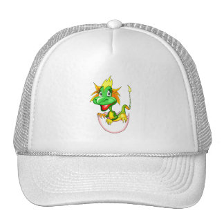 Baby dragon in egg graphic.png trucker hat
