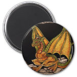 Baby Dragon items 2 Inch Round Magnet