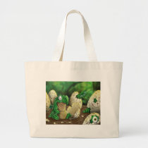 Baby Dragon Large Tote Bag