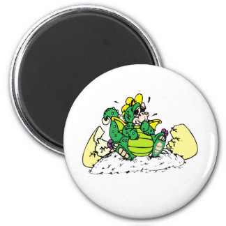 baby dragon 2 inch round magnet