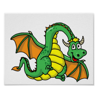Baby Dragon Poster