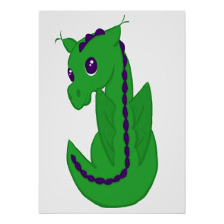 Baby Dragon Print