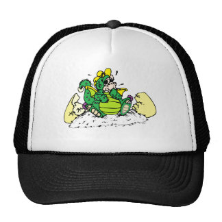 baby dragon trucker hat