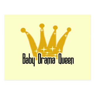Baby Drama Queen Tshirts and Gifts Postcard
