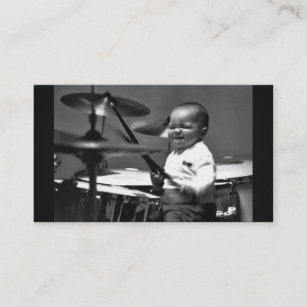Drummer business cards templates zazzle baby drummer business card colourmoves