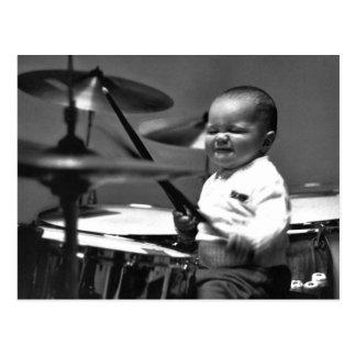 Baby Drummer Postcard