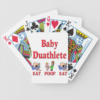 Baby Duathlete 2 Bicycle Playing Cards