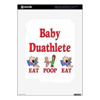 Baby Duathlete 2 iPad 3 Skins