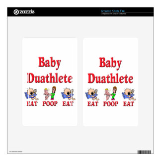 Baby Duathlete 2 Skins For Kindle Fire