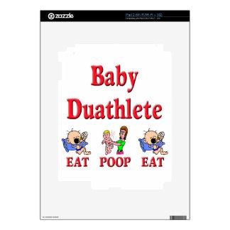 Baby Duathlete 2 iPad 2 Skins