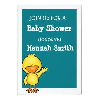 baby duck Baby Shower Card