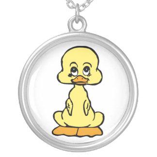 Baby Duck Cartoon Necklace