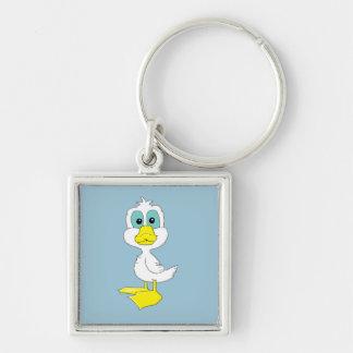 Baby duck keychain