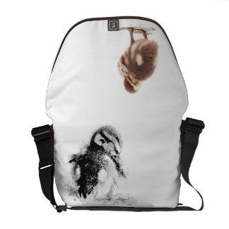 Baby Ducks Duckling Bird Wildlife Animals Mallard Courier Bag