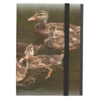 Baby Ducks Duckling Bird Wildlife Animals Mallard Cover For iPad Air