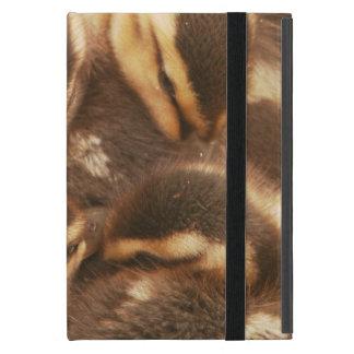 Baby Ducks Duckling Bird Wildlife Animals Mallard Cover For iPad Mini