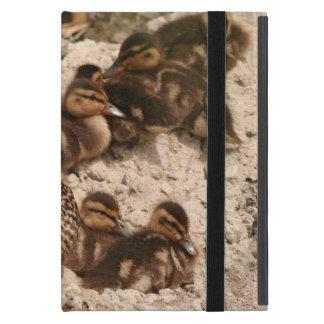 Baby Ducks Duckling Bird Wildlife Animals Mallard Covers For iPad Mini