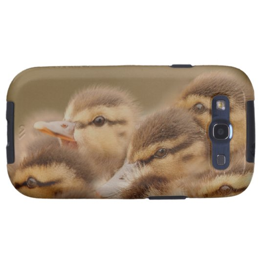 Baby Ducks Duckling Bird Wildlife Animals Mallard Galaxy SIII Cover