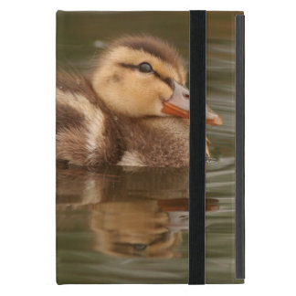 Baby Ducks Duckling Bird Wildlife Animals Mallard iPad Mini Cover