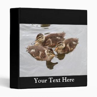 Baby Ducks Photo 3 Ring Binder