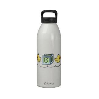 Baby Ducks Reusable Water Bottle