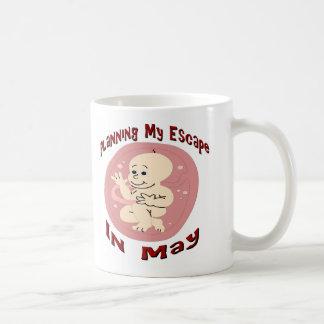 Baby Due In May Coffee Mug