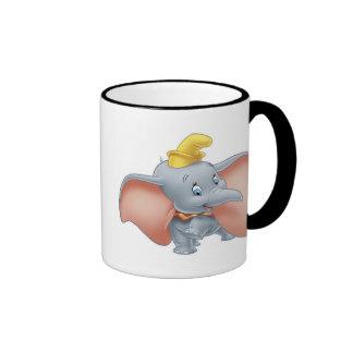 Baby Dumbo walking Ringer Mug