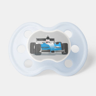Baby dummy Blue race car -